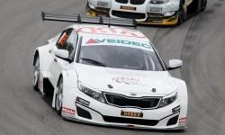 Team Kia mönstrar tre bilar i Göteborg