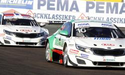 Team Kia med tre bilar även i Falkenberg