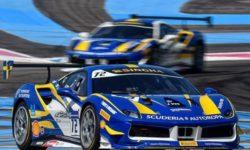 Brovallen Design och Scuderia Motorsport kör Swedish GT på Karlskoga Motorstadion