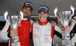Dubbla andraplatser i Swedish GT