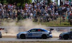 Alex Andersson nöjd efter stenhårda STCC-race i Falkenberg